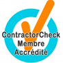 Contractor Check - Membre accrédité